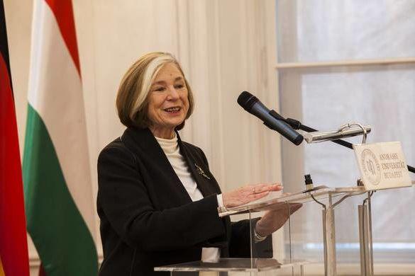 Prof. Ursula Männle, a Hanns Seidel Alapítvány elnöke