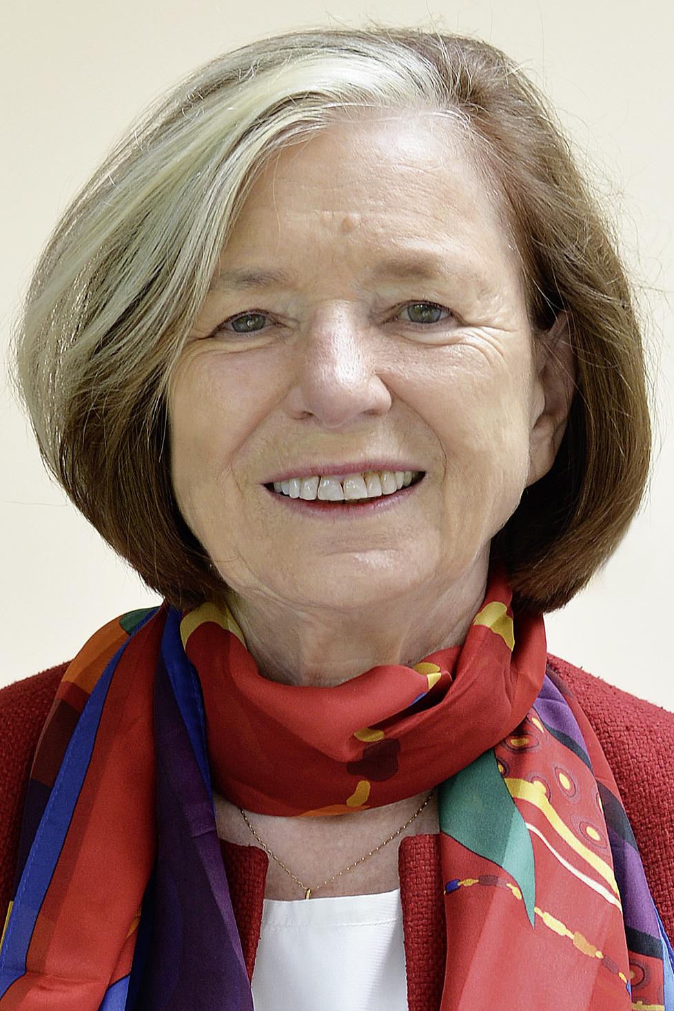Prof. Ursula Männle elnökasszony, volt államminiszter